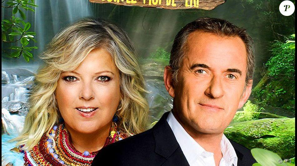 Laurence Boccolini et Christophe Dechavanne sont les participants de l'émission Je suis une célébrité... Sortez moi de là ! diffusée à partir du 9 juillet 2019.
