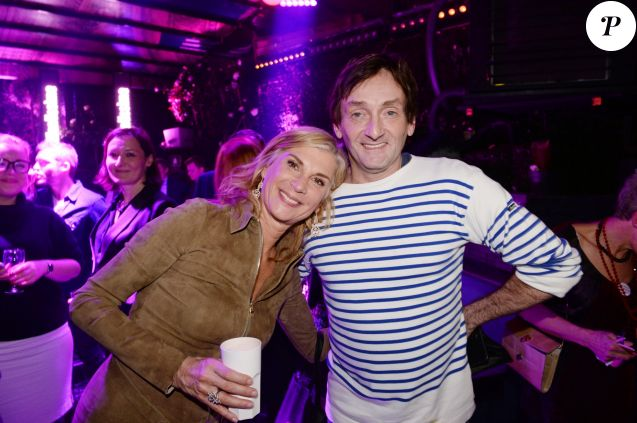 Exclusif - Michèle Laroque et Pierre Palmade - After-party du film Brillantissime à la discothèque L'Arc à Paris, France, le 15 janvier 2018. Evènement organisé par Five Eyes Production. © Rachid Bellak/Bestimage