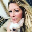 Loana et son chien Titi sur Instagram, le 16 juin 2019