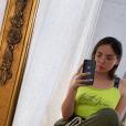 Agathe Auproux à Paris, le 26 juin 2019, Instagram