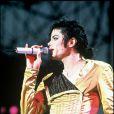 Michael Jackson sur scène en 1993.