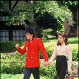 Michael Jackson et Lisa Marie Presley. Ils divorcent en 1996.
