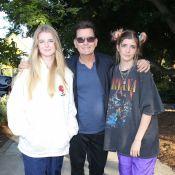 Charlie Sheen : Rare photo de ses filles Sam et Lola, elles ont bien grandi !