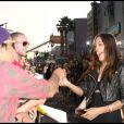 Rosario Dawson lors de la première du film Brüno à Los Angeles le 25 juin 2009