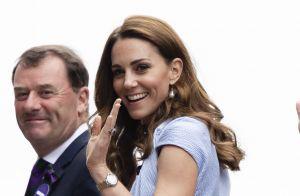 Kate Middleton pimpante en robe pastel à Wimbledon