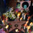 L'étoile de Michael Jackson sur le Walk of Fame à Hollywood