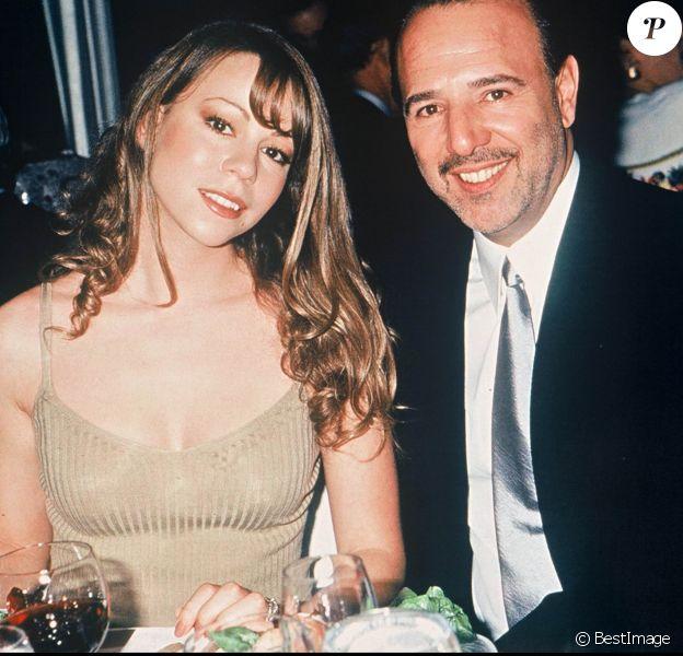 Mariah Carey et son mari Tommy Mottola le 15 mai 1995.