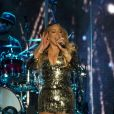 Mariah Carey en concert au Festival d'été de Quebec à Quebec au Canada, le 11 juillet 2019.
