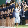 Catherine (Kate) Middleton, duchesse de Cambridge - Le tournoi de Wimbledon 2019, Londres les 12, 13 et 14 juillet 2019.