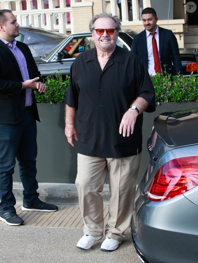 Jack Nicholson fait du shopping chez Barney's New York à Los Angeles, Californie, Etats-Unis, le 20 décembre 2016.
