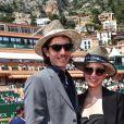 Jazmin Grace Grimaldi ( la fille du prince Albert II de Monaco) et son compagnon Ian Mellencamp assistent au Rolex Monte Carlo Masters 2018 de tennis, au Monte Carlo Country Club à Roquebrune Cap Martin le 18 avril 2018. © Bruno Bebert / Bestimage