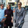 Taylor Swift et Karlie Kloss se promènent dans les rues de New York, le 3 avril 2014.