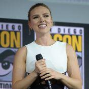 Scarlett Johansson : Sa large bague de fiançailles enfin dévoilée
