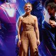 Scarlett Johansson - Toute l'équipe de Marvel Studios Avengers: Endgame laissent leurs empreintes sur le ciment lors d'une cérémonie au Chinese Theatre à Hollywood, Los Angeles, le 23 avril 2019