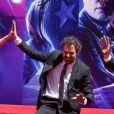Scarlett Johansson, Mark Ruffalo - Toute l'équipe de Marvel Studios Avengers: Endgame laissent leurs empreintes sur le ciment lors d'une cérémonie au Chinese Theatre à Hollywood, Los Angeles, le 23 avril 2019