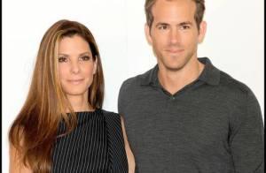 Sandra Bullock et Ryan Reynolds, un couple glamour mais... il n'attire pas les foules ! C'est ballot...