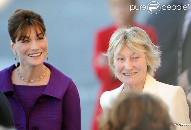 Carla Bruni-Sarkozy et Marisa Bruni-Tedeschi