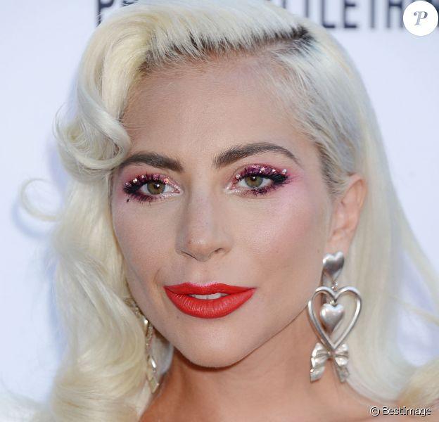 Lady Gaga à la soirée Fifth Annual Fashion à Beverly Hills, Los Angeles, le 17 mars 2019.