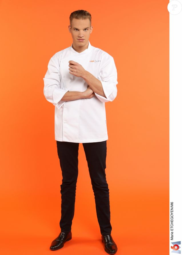 """Maximilien Dienst (23 ans) - Candidat de """"Top Chef 2017"""" sur M6."""
