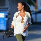 Christina Milian enceinte de M. Pokora : Première sortie et discret baby bump