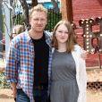 """Kevin McKidd et sa fille Iona - People à la première de """"Goosebumps"""" à Los Angeles, le 4 octobre 2015."""