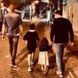 Arthur et ses enfants Samuel (21 ans), Aaron (9 ans), Manava (3 ans). Mai 2019