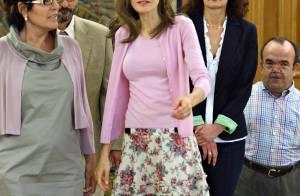 Letizia d'Espagne : en plein travail... c'est la plus charmante des patronnes !