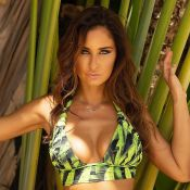 Malika Ménard dévoile un large décolleté à la piscine : le prix de son maillot