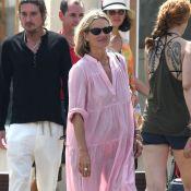 Kate Moss : Touriste stylée et détendue à Saint-Tropez