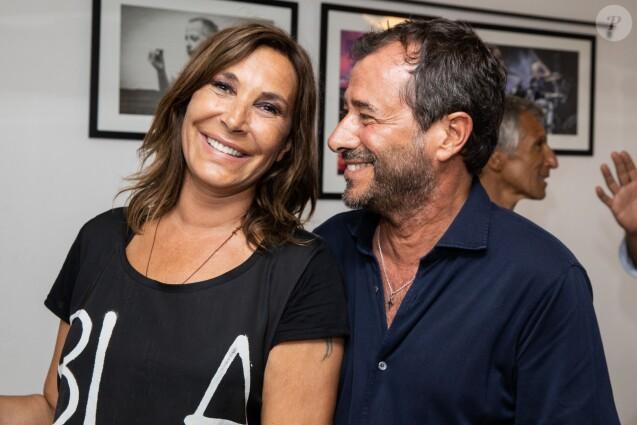 """Exclusif - Zazie et Bernard Montiel - Zazie en concert lors de sa tournée """"Le Zazie Essencieltour"""" au Festival de Ramatuelle, France, le 7 août 2019."""
