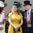 Sarah Ferguson et le prince Andrew, duc d'York, au Royal Ascot le 21 juin 2019.