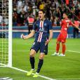Edinson Cavani lors du match de championnat de Ligue 1 Conforama opposant le Paris Saint-Germain au Nîmes Olympique au parc des Princes à Paris, France, le 11 août 2019. Le PSG a gagné 3-0. © Lionel Urman/Bestimage