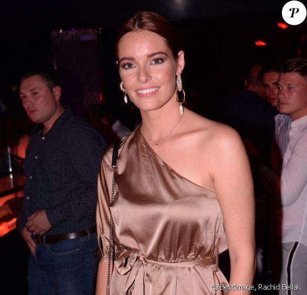 Exclusif - Maëva Coucke (Miss France 2018) au VIP Room de Saint-Tropez, France, le 11 août 2019. © Rachid Bellak/Bestimage