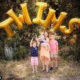 Bode Miller annonce que sa femme Megan Beck est enceinte de jumeaux sur Instagram le 12 août 2019.
