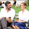 """Hilary Swank et Jeffrey Dean Morgan sur le tournage de """"The Resident"""", à New York, le 1er juillet 2009 !"""