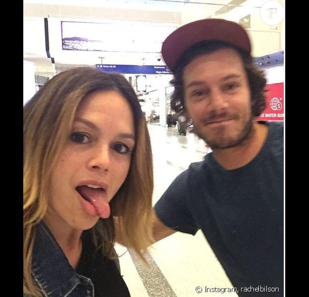 Rachel Bilson a posté cette photo d'elle et d'Adam Brody, sur Instagram, le 13 août 2019.