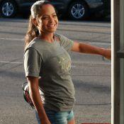 Christina Milian radieuse : baby bump de sortie, M. Pokora sur un nuage