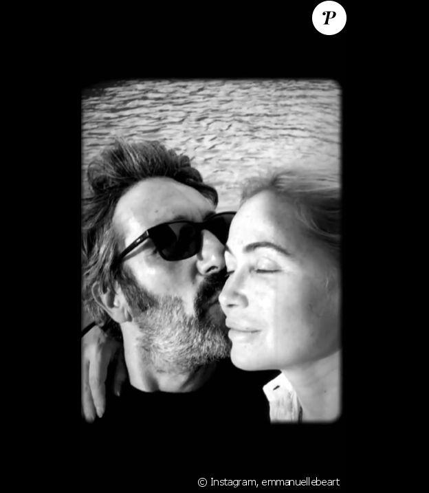 Emmanuelle Béart sur Instagram.