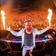 David Guetta au festival Dance Valley aux Pays-Bas. Août 2019.