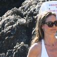 Exclusif - Heidi Klum et son mari T. Kaulitz se relaxent et se baignent avec leurs amis après avoir déjeuné au restaurant La Fontelina, le lendemain de leur mariage à Capri en Italie. Le couple s'embrasse et se câline. Le 4 août 2019