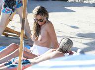 Heidi Klum : Bronzage topless, intervention de la police... Sa lune de miel sexy