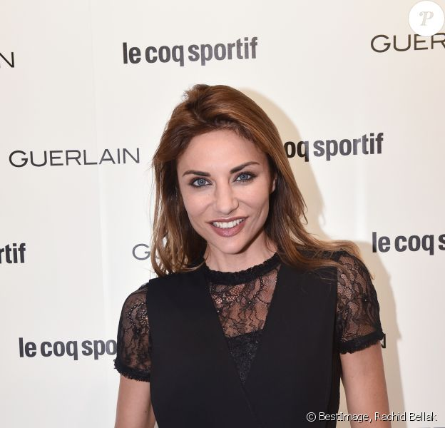 Ariane Brodier - Le coq sportif et Guerlain organisent une soirée pour célébrer le lancement de leur collaboration, au flagship le coq sportif boulevard Saint-Germain à Paris, France, le 31 mai 2017. © Rachid Bellak/Bestimage