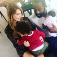 Ariane Brodier, Fulgence Ouedraogo et leurs enfants - Instagram, le 10 mai 2019