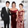 Catherine Zeta Jones avec ses enfants Dylan Michael Douglas et Carys Zeta Douglas - le 1er mars 2019