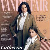 Catherine Zeta-Jones et sa fille Carys (16 ans) en couverture de Vanity Fair