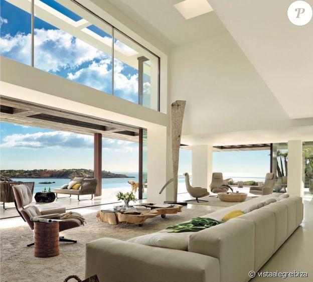 La villa à Ibiza occupée par Meghan Markle, le prince Harry et leur fils Archie, entre les 6 et 12 août 2019.