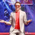 """Robert Downey Jr. - Les membres de l'équipe de Marvel Studios """"Avengers: Endgame"""" laissent leurs empreintes sur le ciment lors d'une cérémonie au Chinese Theatre à Hollywood, Los Angeles, le 23 avril 2019."""