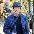 Robert Downey Jr. se promène à New York, le 8 novembre 2018.