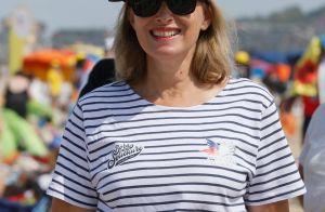 Valérie Trierweiler : Look à la cool avec Isabelle Ithurburu à la plage