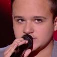 """Matthias - """"The Voice Kids 2019"""", le 6 septembre 2019 sur TF1."""